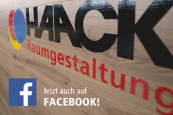 HAACK Raumgestaltung für Sie jetzt auch auf Facebook