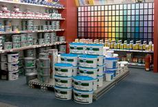 HAACK Lübz Abteilung Farben