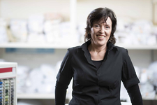 Angela Neels, Kundenberatung Gardine