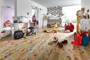 Raumbild Kinderzimmer Joka Korkboden Impresso Handmade
