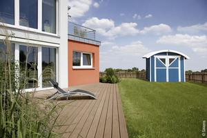 Außenbereich Terrasse Holschutzlasur Wetterschutzfarbe