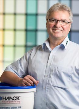 Gerald Pohla, Geschäftsführer HAACK Raumgestaltung Lübz