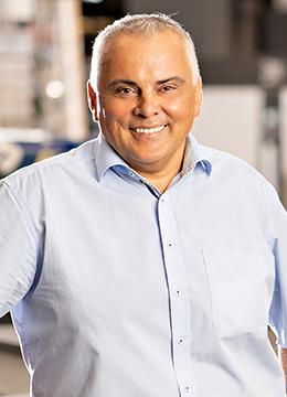 André Schubert, Geschäftsführer HAACK Raumgestaltung Ludwigslust